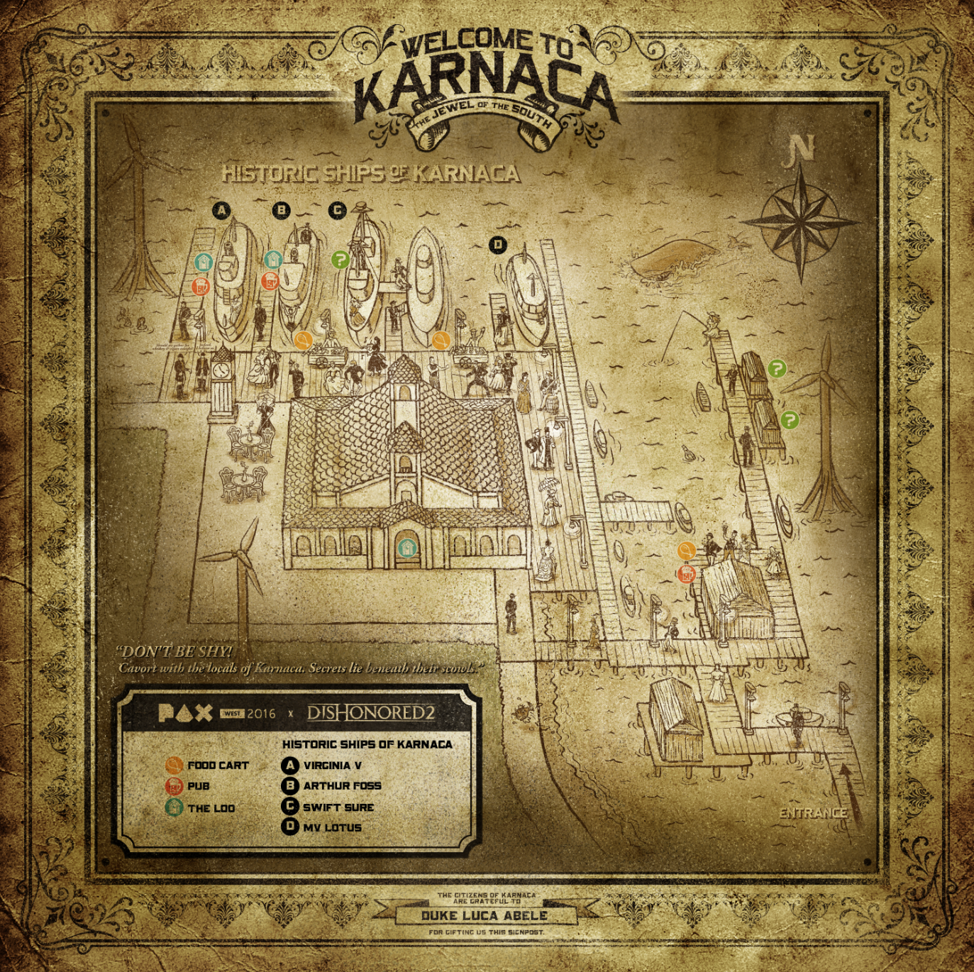 Historic Ships Of Karnaca Pax West 2016 Artwork Dishonored