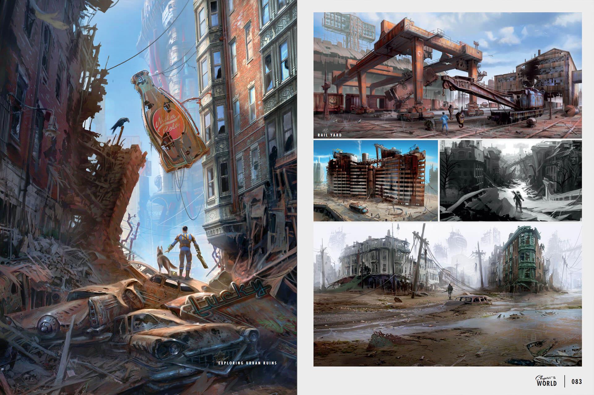 Fallout Арты Персонажей
